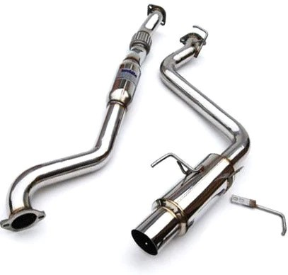 invidia n1 catback exhaust stainless steel 08 14 sedan wrx sti