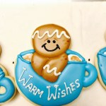 Gingerbread Mug Cookie Christmas Winter Warm Wishes Cookies Just Baked Sweets