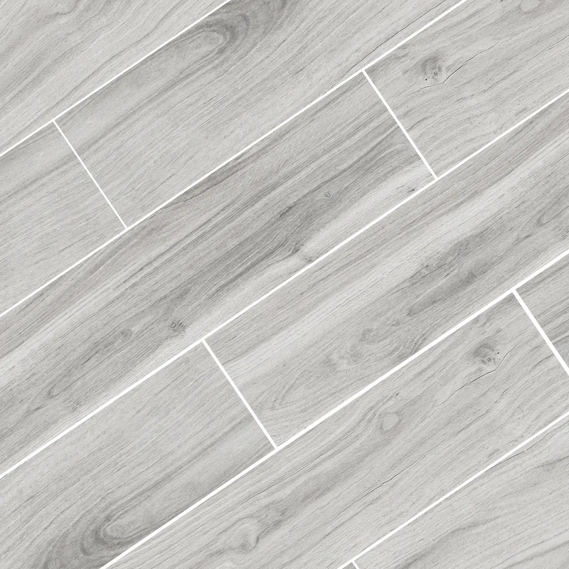 bolzano grey wood look matte porcelain tile 8 x48 wall floor
