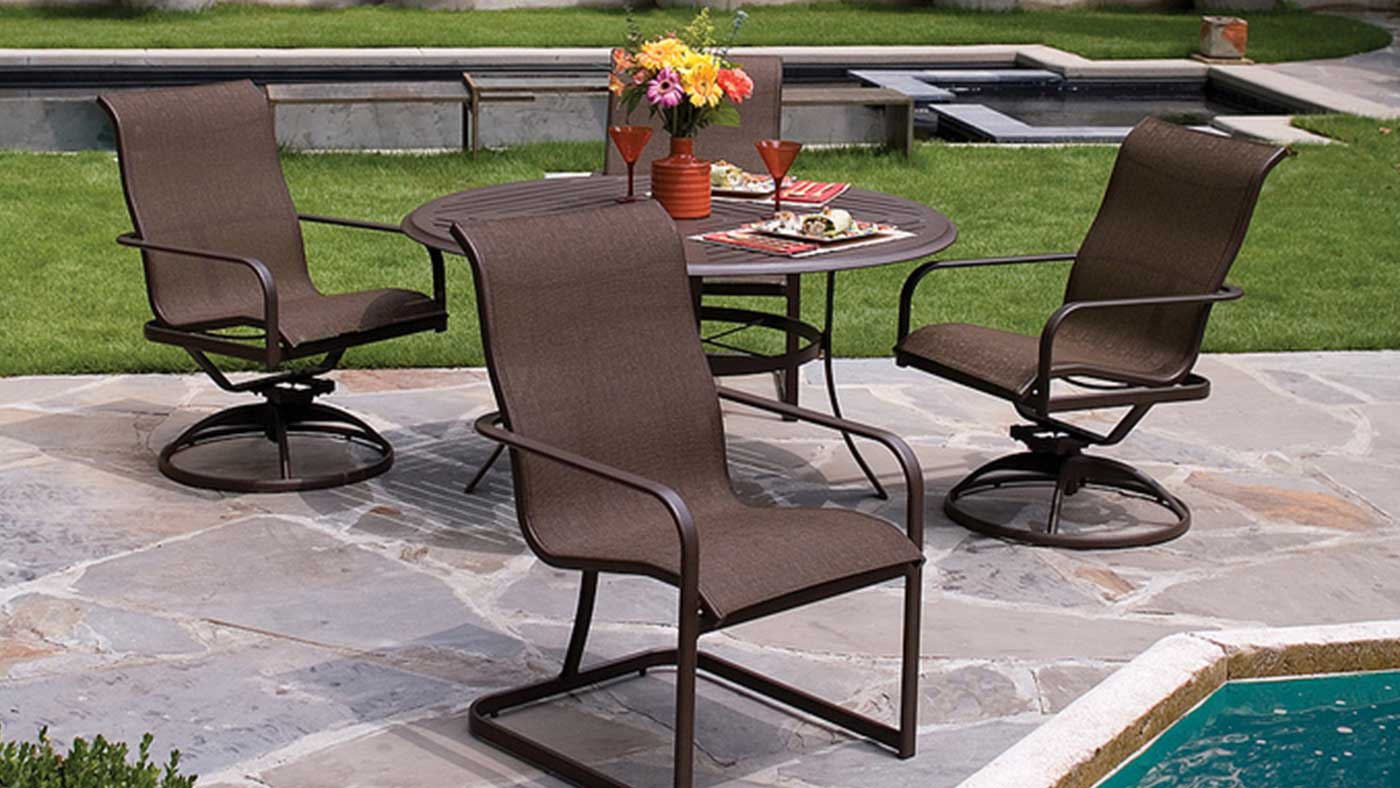 how to keep your patio sling chairs