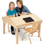 Jonti Craft Quad Tablet And Reading Table 23 High Kindermark Kids