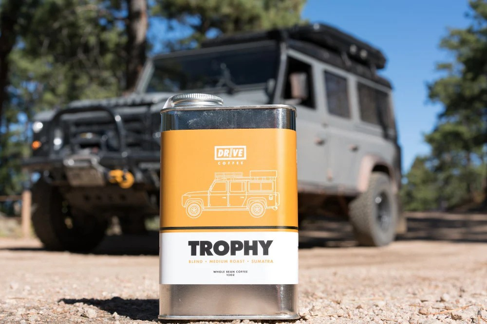 DRIVE COFFEE TROPHY Blend find your overlanding panion