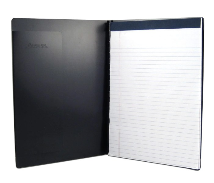 Padfolio with Writing Pad   Black   Letter Size  00879      Saunders     Padfolio with Writing Pad   Black   Letter Size  00879