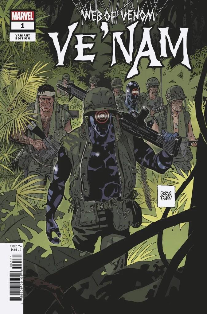 Capa de Web of Venom: Ve Nam por Goran Parlov.