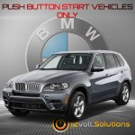 2010 2013 Bmw X5 M Series Plug And Play Remote Start Kit Push Button 12volt Solutions