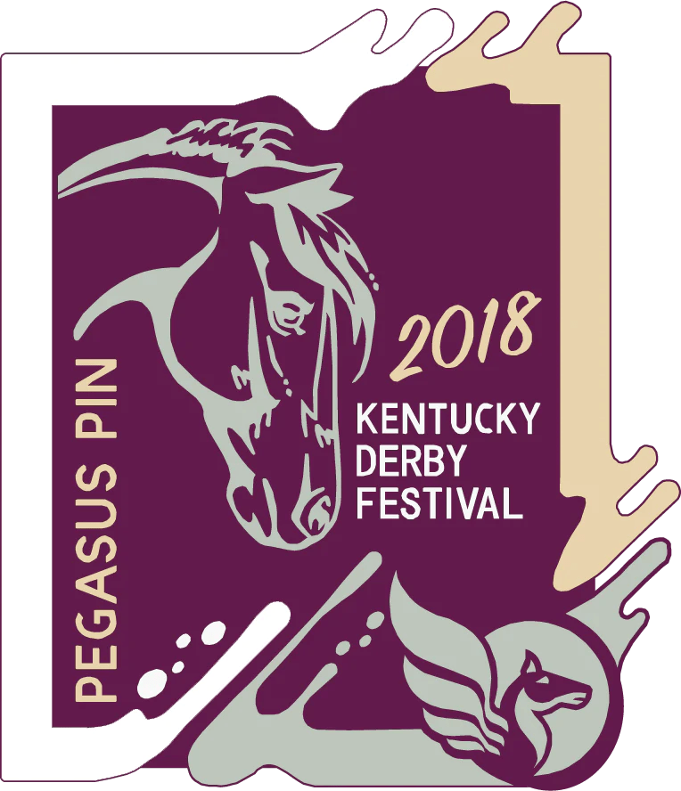 1988 Kentucky Derby Festival Pins