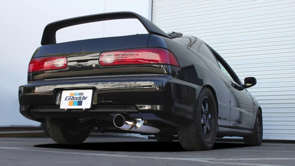 greddy supreme sp cat back exhaust 1994 2001 acura integra rs ls gs r