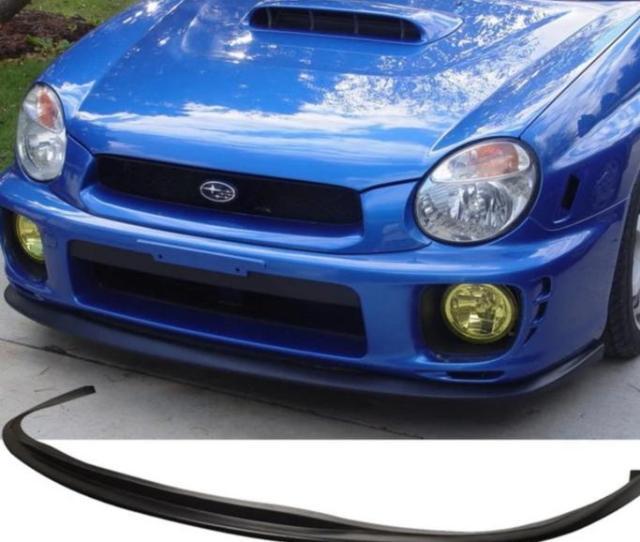 2001 2002 Bugeye Subaru Wrx Sti Front Lip Ausbody Works