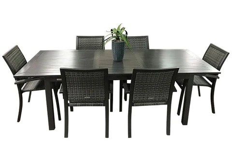calcutta outdoor dining set outdoor
