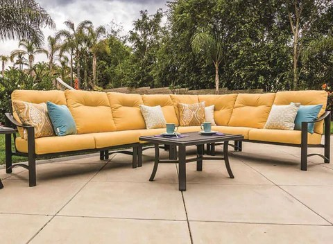 kenzo 3 pc sectional outdoor