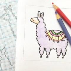 little-llama-sketches