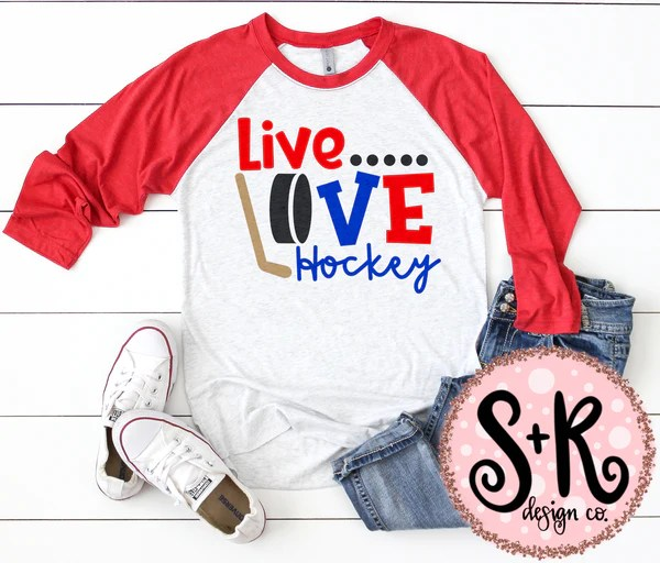 Download Live Love Hockey SVG DXF PNG (2019) - Scout and Rose Design Co