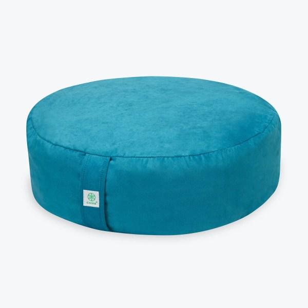 Teal Zafu Meditation Cushion