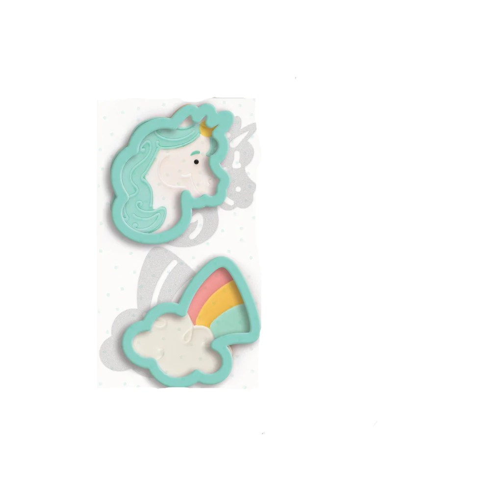 Sweet Sugarbelle Cookie Cutter Unicorn Rainbow Includes