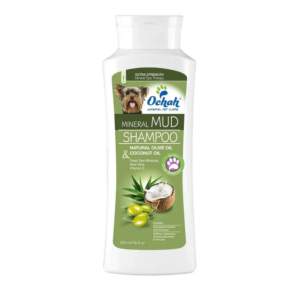 Anti Itch Mineral Mud Shampoo With Olive Oil And Coconut