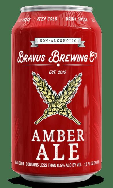 Non-Alcoholic Amber Ale - Bravus Brewing Company