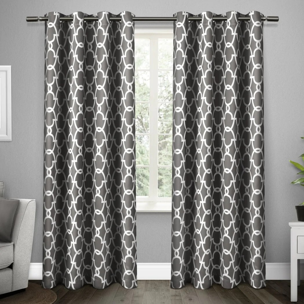 96 inch window curtains every color