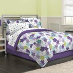 Girls Teen Flower Comforter Set Cute Abstract Flowers Bedding Pretty F Diamond Home