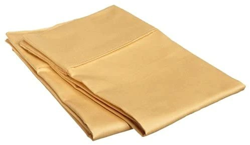 gold pillow shams solid comfy