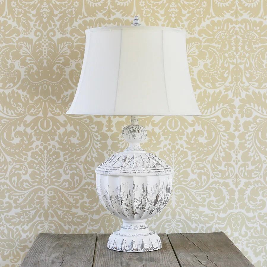 shabby chic lighting chariot table lamp