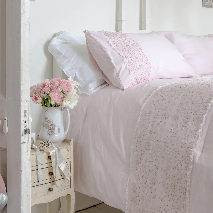 30 off shabby chic bedding collection eyelet comforter set online exclusive