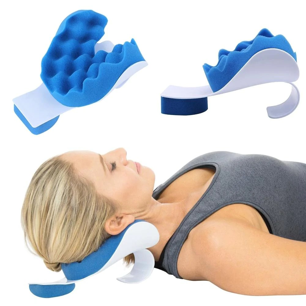 traction device pain relief pillow for
