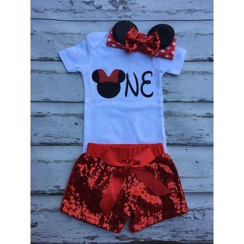 Minnie Mouse 1st Birthday Onesie 1st Birthday Ideas