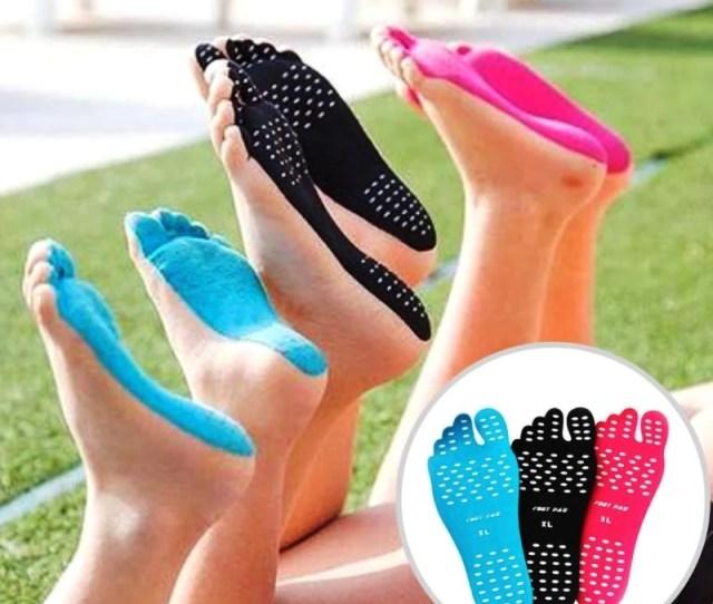Naked Feet Sticky Soles