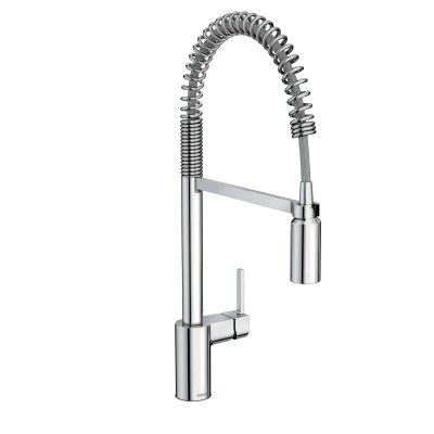 moen align one handle high arc pull down pre rinse kitchen faucet 59 central plumbing and heating supply co inc