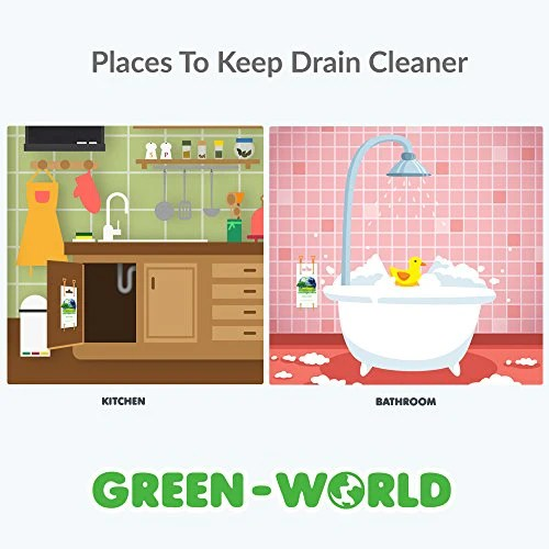 drain cleaner and cleaning tool by green world set of 3 hair drain clog remover and removal opener sink and bathtub toilet hook catcher unclogger