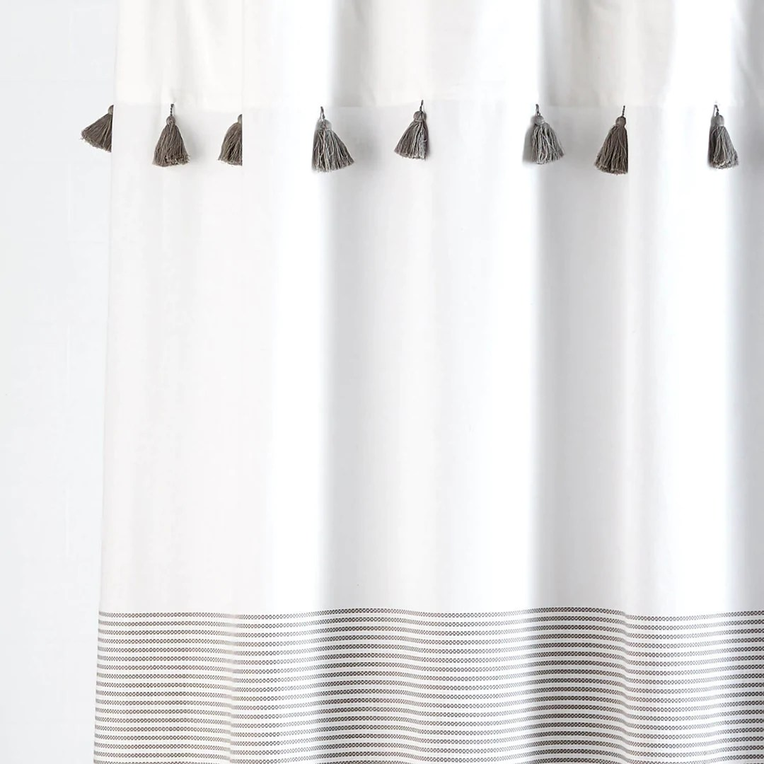 Panama Stripe Shower Curtain Dormify