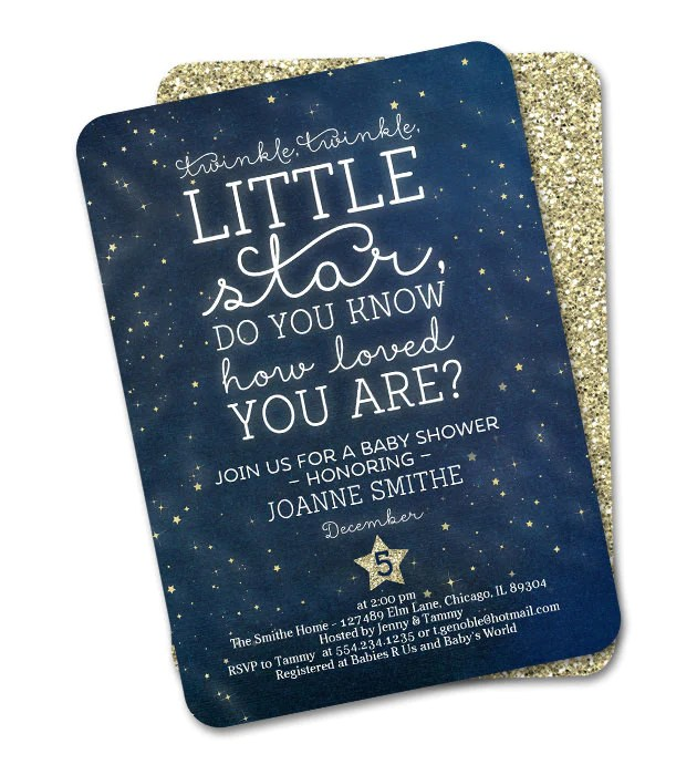 twinkle twinkle little star first birthday invitation twinkle twinkle little star do you know how loved you are any event