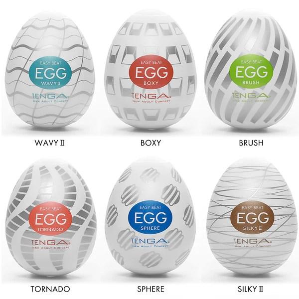 Tenga Easy Beat Eggs best disposable one time use manual masturbator sex toys for men
