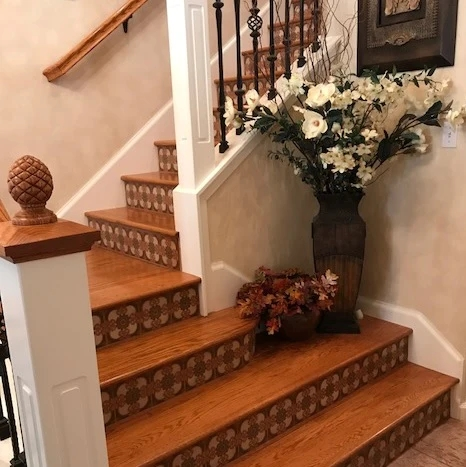 Favorite Stair Riser Tile Designs And Tips – Avente Tile | Tread Riser Staircase Design | Effective | Contemporary | Cad Detail | Folded Plate | Angled