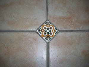 decorative spanish ceramic tile inserts