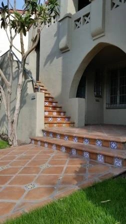 Ideas for laminate tile flooring in 2020 laminate tile. The Look Of Saltillo Tile The Versatility Of Rustic Cement Tile Pave Avente Tile