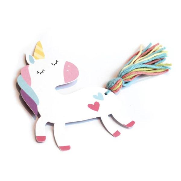 printable unicorn bookmarks # 45