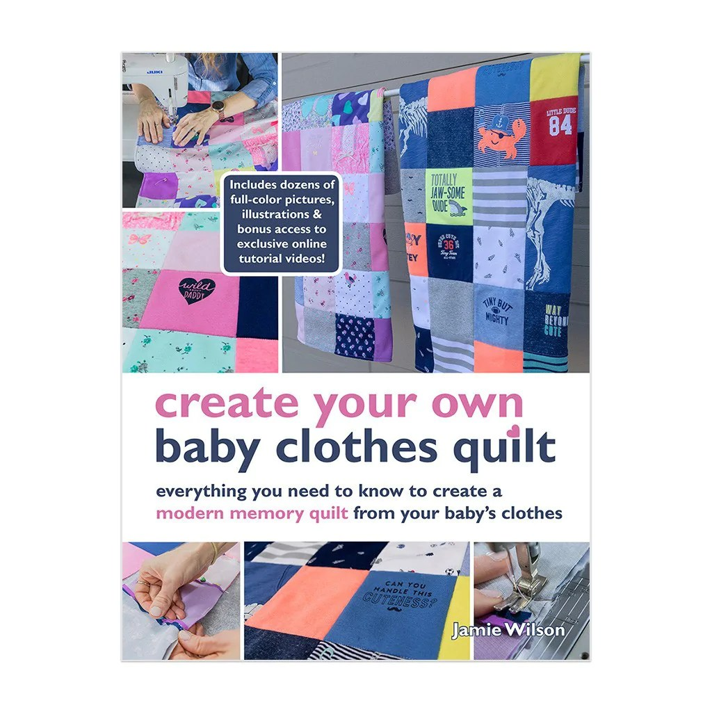 Turn Baby Clothes Quilt