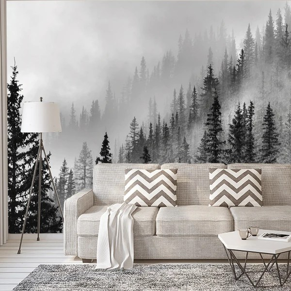 Enchanted Forest   Wall Mural   Wallpaper     Print4One Enchanted Forest   Wall Mural   Wallpaper