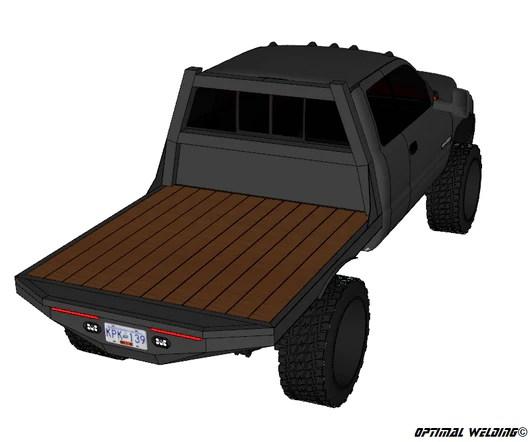Srw Short Box Flat Beds