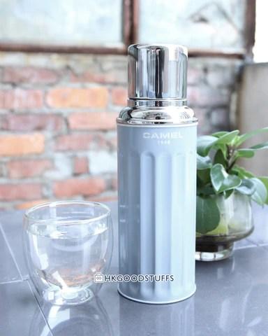 xCVF101 2016色 駱駝牌玻璃膽保溫瓶450ml - 灰藍色(已停產) – Hong Kong Good Stuffs