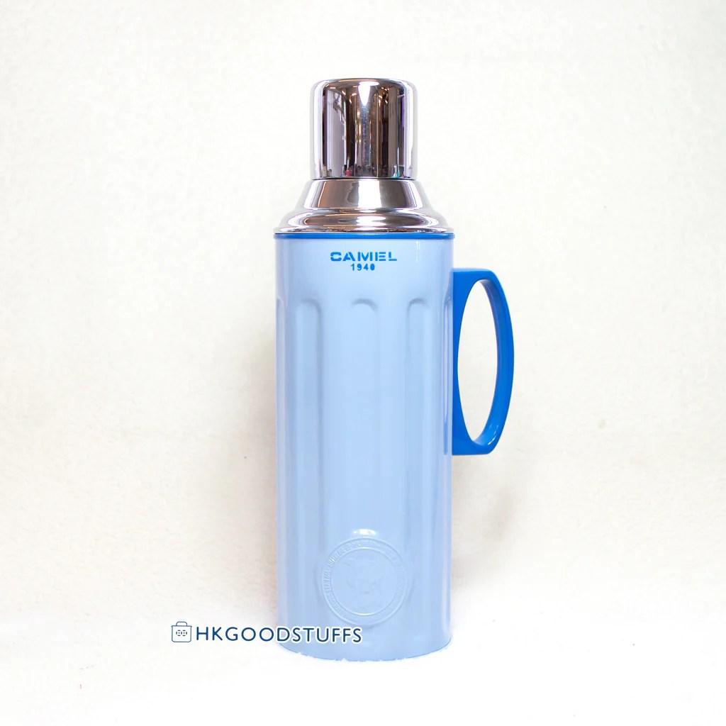 CVF312BB 駱駝牌玻璃膽保溫瓶 1.1L 粉藍(現貨) – Hong Kong Good Stuffs