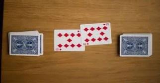 (在這一回合中,擁有10張牌的玩家將獲勝並獲得兩張卡)