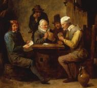 (The game of Euchre has a long history beginning in 18日 century Europe)