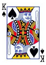 """(在""""擰你的鄰居""""中,國王是安全卡)"""