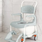Etac Clean Best Shower Commode Chair With Lockable