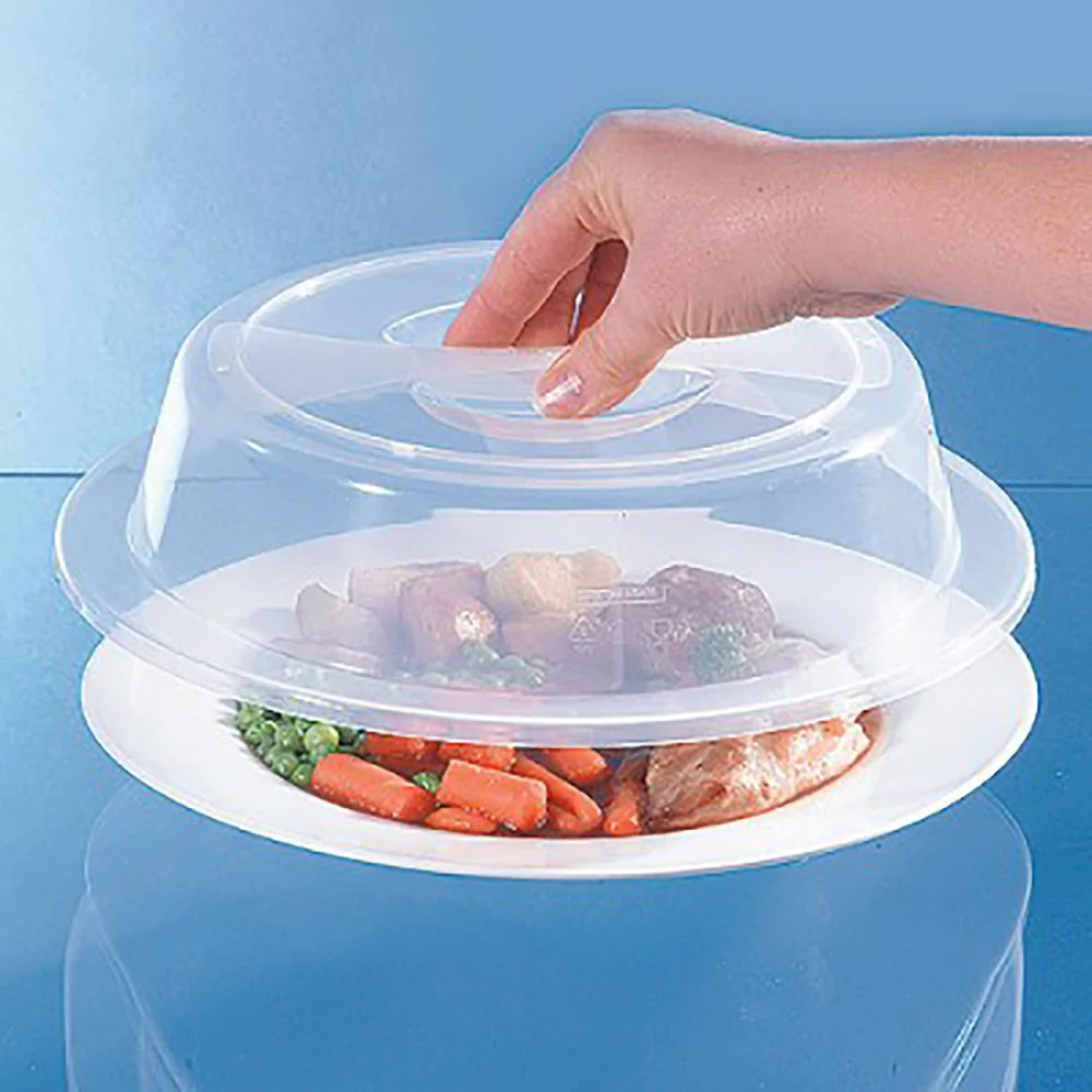 microwave food cover large individual