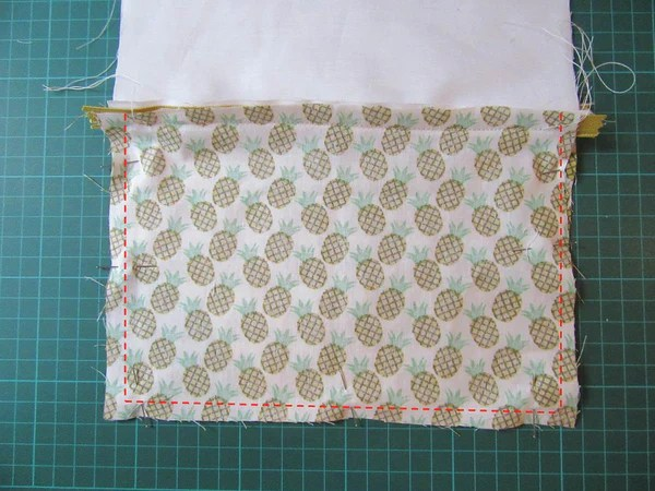 Couture du tissu extérieur