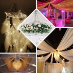 12 Panel 28 Hoop Ceiling Draping Hardware Kit For Wedding Party Banquet Event Free Tool Kit Tableclothsfactory