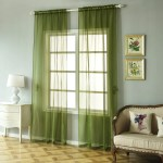 Pack Of 2 52 X108 Moss Green Sheer Organza Curtains With Rod Pocket Window Treatment Panels Tableclothsfactory